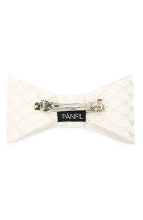 Женская бант PANFIL белого цвета, арт. Бант Whtls8 | Фото 2
