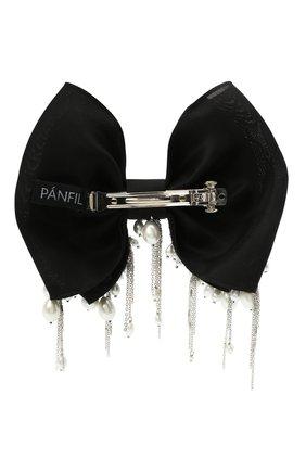 Женская бант PANFIL черного цвета, арт. Бант BlPrlD2 | Фото 2