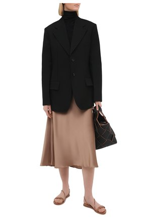 Женские кожаные сандалии manhattan GIANVITO ROSSI бежевого цвета, арт. G31202.05CU0.VERPRAL | Фото 2