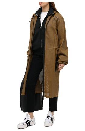 Женские кожаные кеды valentino garavani vl7n VALENTINO черно-белого цвета, арт. VW2S0V66/WRQ | Фото 2