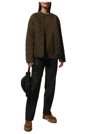 Женские кожаные ботинки CASADEI бежевого цвета, арт. 1R256S0401RENXL2801 | Фото 2