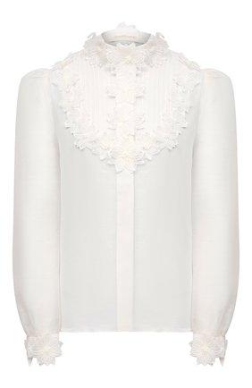 Женская блузка ZIMMERMANN белого цвета, арт. 9805TAND | Фото 1