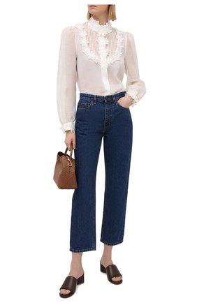 Женская блузка ZIMMERMANN белого цвета, арт. 9805TAND | Фото 2