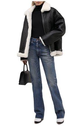 Женская дубленка VETEMENTS черного цвета, арт. UE51JA960B 2403/W | Фото 2