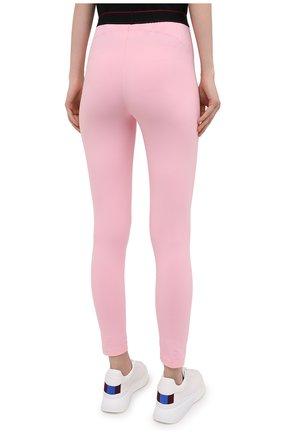Женские леггинсы VETEMENTS розового цвета, арт. WE51PA640P 1332/BABY PINK | Фото 4