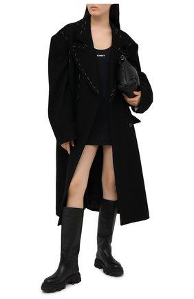 Женское платье VETEMENTS черного цвета, арт. WE51DR650B 2605/BLACK | Фото 2
