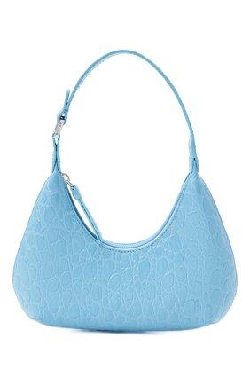 Женская сумка amber BY FAR голубого цвета, арт. 21CRBASLGNDSMA   Фото 1