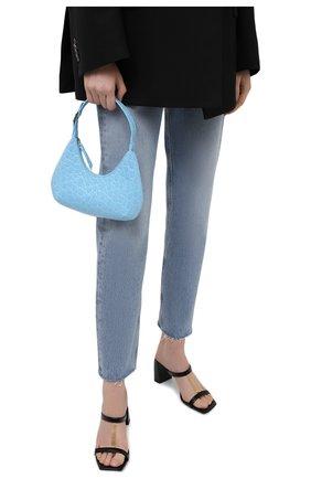 Женская сумка amber BY FAR голубого цвета, арт. 21CRBASLGNDSMA   Фото 2