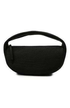 Женская сумка cush BY FAR черного цвета, арт. 21CRCSHSBLFLTMED   Фото 1