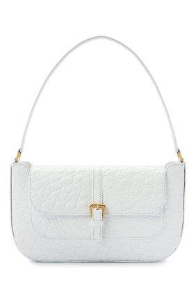 Женская сумка miranda BY FAR белого цвета, арт. 21CRMDASPWDMED | Фото 1