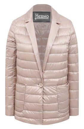 Женская куртка HERNO розового цвета, арт. PI1230D/12017 | Фото 1