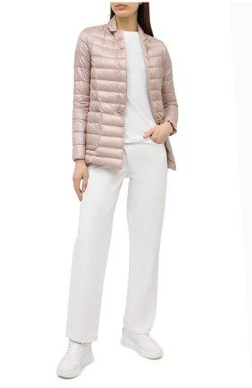 Женская куртка HERNO розового цвета, арт. PI1230D/12017 | Фото 2