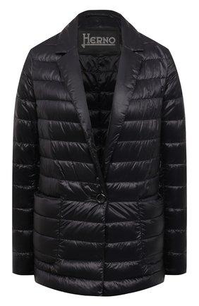 Женская куртка HERNO черного цвета, арт. PI1230D/12017 | Фото 1