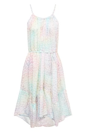 Женское хлопковое платье A MERE CO разноцветного цвета, арт. AMC-RSS21-322IR | Фото 1