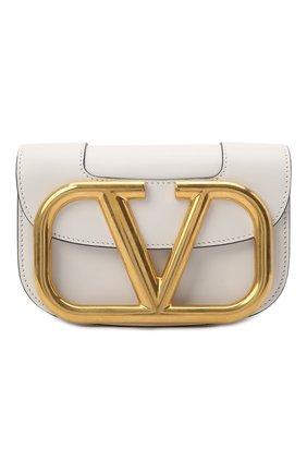 Женская сумка valentino garavani supervee VALENTINO белого цвета, арт. VW2B0G45/ZXL | Фото 1