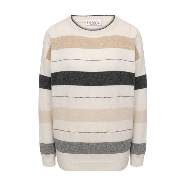 Кашемировый пуловер Brunello Cucinelli
