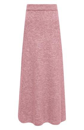 Женская юбка NANUSHKA розового цвета, арт. RAZI_WASHED PINK_FLUFFY KNIT | Фото 1