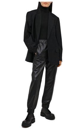 Женский пуловер POLO RALPH LAUREN черного цвета, арт. 211814422 | Фото 2