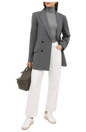 Женский пуловер POLO RALPH LAUREN серого цвета, арт. 211814422 | Фото 2