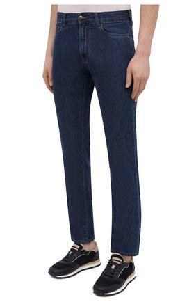 Мужские джинсы CANALI темно-синего цвета, арт. 91700R/PD00621 | Фото 3