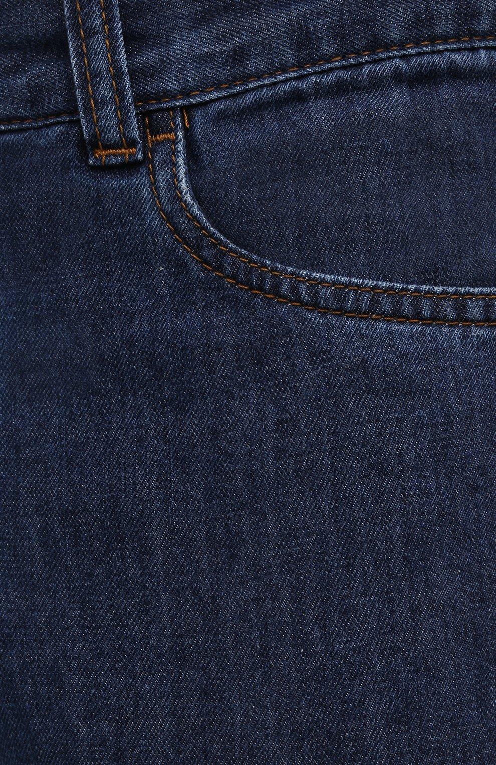 Мужские джинсы CANALI темно-синего цвета, арт. 91700R/PD00621 | Фото 5