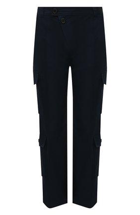 Мужские хлопковые брюки-карго KENZO темно-синего цвета, арт. FB55PA3349CT | Фото 1