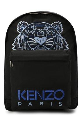 Мужской текстильный рюкзак KENZO черного цвета, арт. FA65SF300F20 | Фото 1