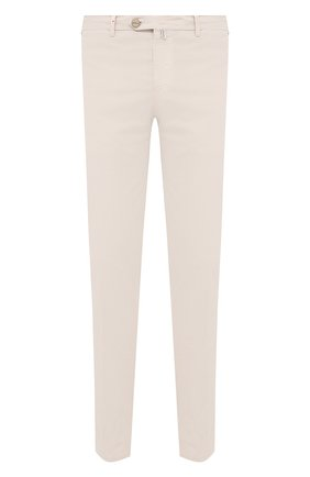 Мужские хлопковые брюки KITON светло-бежевого цвета, арт. UFPP79J07T36 | Фото 1