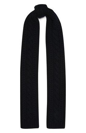 Мужской кашемировый шарф RALPH LAUREN темно-синего цвета, арт. 790782226 | Фото 1