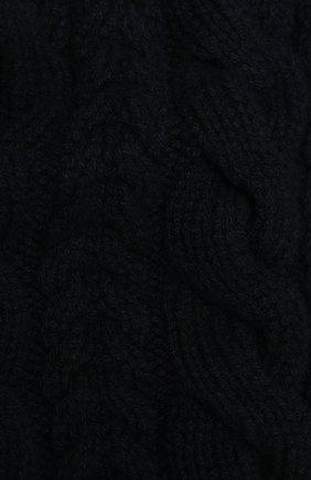 Мужской кашемировый шарф RALPH LAUREN темно-синего цвета, арт. 790782226 | Фото 2