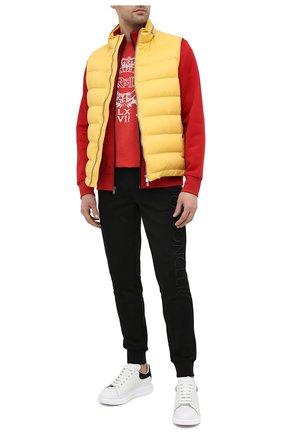 Мужская хлопковая футболка POLO RALPH LAUREN красного цвета, арт. 710823546 | Фото 2 (Рукава: Короткие; Стили: Кэжуэл; Принт: С принтом; Материал внешний: Хлопок; Длина (для топов): Стандартные)