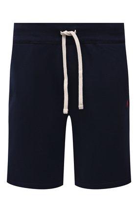 Мужские шорты POLO RALPH LAUREN темно-синего цвета, арт. 710790292   Фото 1