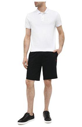 Мужские шорты POLO RALPH LAUREN черного цвета, арт. 710790292 | Фото 2