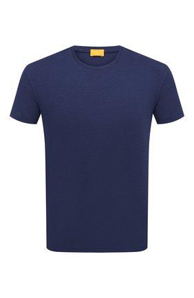 Мужская хлопковая футболка SVEVO синего цвета, арт. 3000SE20/MTB3 | Фото 1