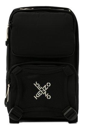 Мужской текстильный рюкзак kenzo sport KENZO черного цвета, арт. FA65SA220F21 | Фото 1