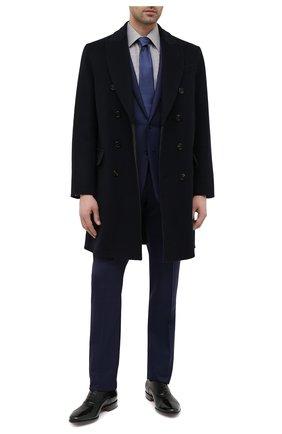 Мужские кожаные оксфорды SANTONI черного цвета, арт. MCBN17158BB3XVVDN01 | Фото 2