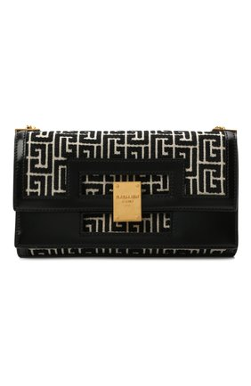 Женская сумка BALMAIN черного цвета, арт. VN1S608/TJGH | Фото 1