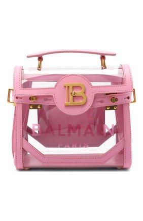 Женская сумка buzz BALMAIN розового цвета, арт. VN1S555/KPVT | Фото 1