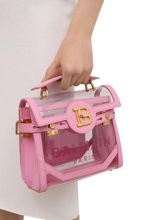 Женская сумка buzz BALMAIN розового цвета, арт. VN1S555/KPVT | Фото 2