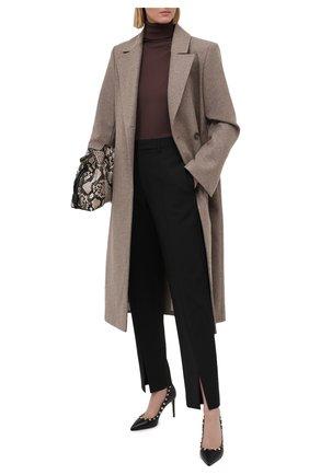 Женские кожаные туфли valentino garavani rockstud VALENTINO черного цвета, арт. VW2S0A04/VCE | Фото 2