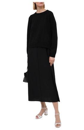 Женские кожаные босоножки felina 100 CASADEI белого цвета, арт. 1L766S0601FL0RE9999 | Фото 2