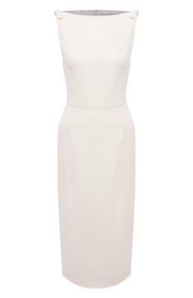 Женское платье VALENTINO белого цвета, арт. VB3VAV9765C | Фото 1