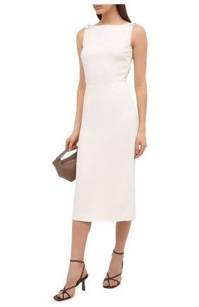 Женское платье VALENTINO белого цвета, арт. VB3VAV9765C | Фото 2
