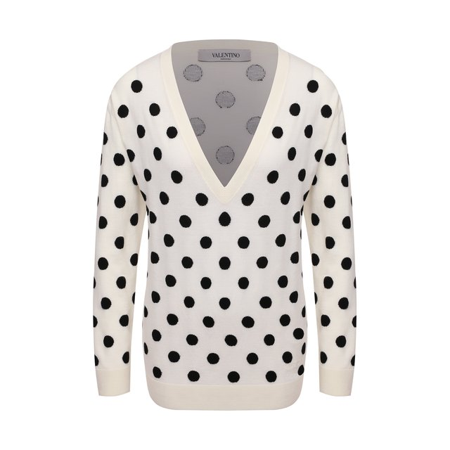 Шерстяной пуловер Valentino