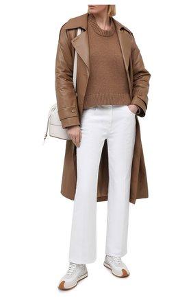 Женские джинсы VALENTINO белого цвета, арт. VB3DD11D67P | Фото 2