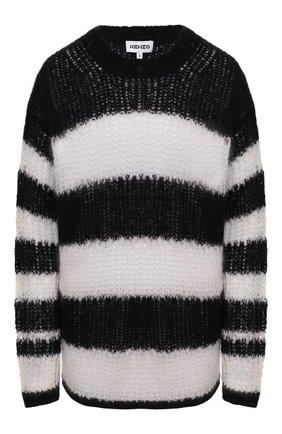 Женский свитер KENZO белого цвета, арт. FB52PU5513CA | Фото 1