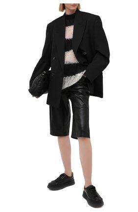 Женский свитер KENZO белого цвета, арт. FB52PU5513CA | Фото 2