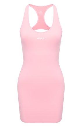Женское платье VETEMENTS розового цвета, арт. WE51DR660P 1332/BABY PINK | Фото 1