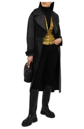 Женская пуховая куртка HERNO зеленого цвета, арт. PI0595D/12017 | Фото 2