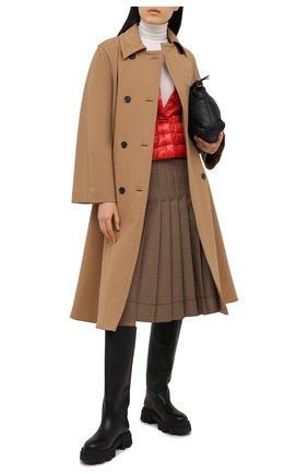 Женская пуховая куртка HERNO красного цвета, арт. PI0595D/12017 | Фото 2